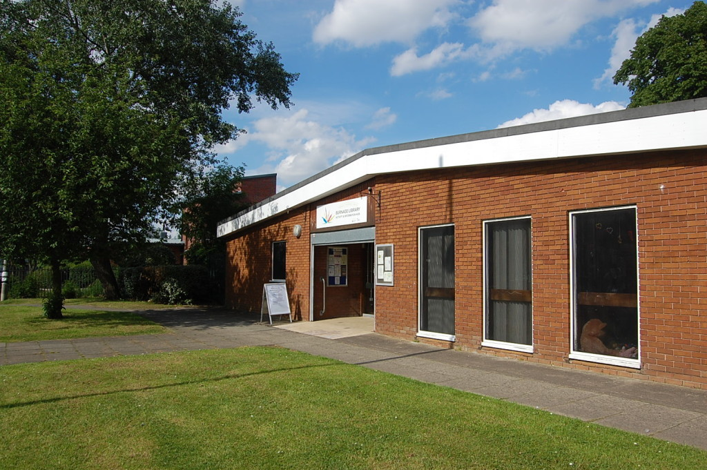 Burnage Library and Activity Hub.