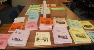 Burnage Heritage Booklets