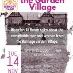 Memory Bank Festival - Ali Ronan on the Garden Village