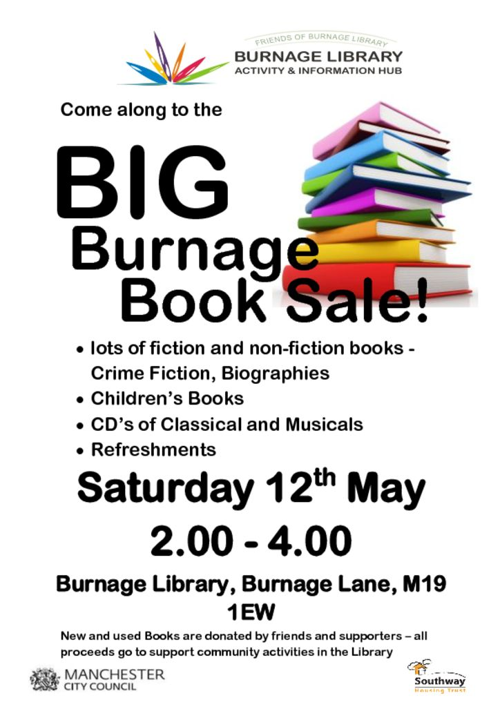 thumbnail of Big Burnage Book Sale final May 2018