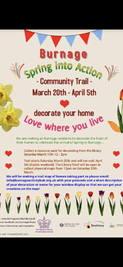 Poster for Community Trail